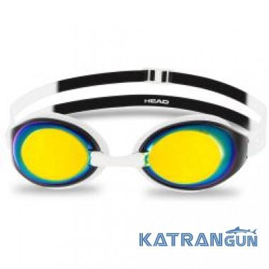 Очки для плавания Head HCB Comp; зеркальные