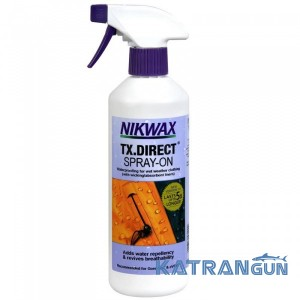 Водоотталкивающий спрей для мембранной одежды Nikwax TX.Direct Spray-On 500 мл