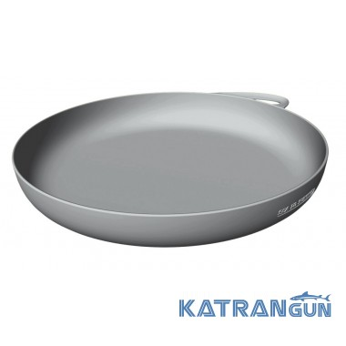Сверхпрочная походная тарелка Sea To Summit Delta Plate, Grey