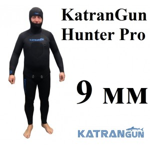 Гідрокостюми для зимового підводного полювання KatranGun Hunter Pro 9 мм