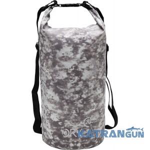 Гермомішок для підводного полювання Cressi Sub Dry Bag Grey Hunter 20 л