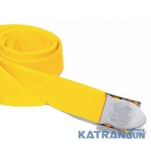 Грузовой ремень дайвинга Best Divers нейлоновый; жёлтый; нержавеющая пряжка стандартная