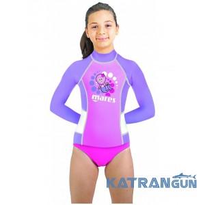 Рашгард для малюків Mares Rash Guard Girl Kid, довгий рукав, для дівчинки