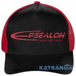 Кепка Epsealon SnapBack, black / red
