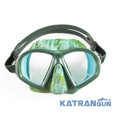 Камуфляжная маска Scorpena М2; green camo