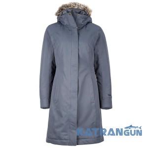 Пуховое пальто для города Marmot Women's Chelsea Coat, Steel Onyx
