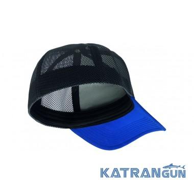 Качественная кепка Buff Trucker Tech Cap Solid Cape Blue - купить в ... c620e2af345a