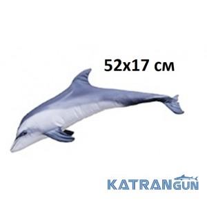 """Подушка-игрушка """"Дельфин"""" (52х17 см)"""
