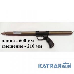 Зелинка подводное ружьё Zelinka Techno 600 мм; со смещением 210 мм; без регулятора