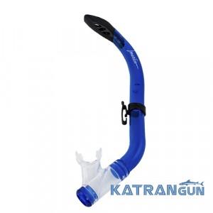 Трубка для плавания детская Marlin Junior; синяя