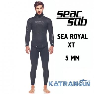 Гидрокостюм для подводной охоты Seac Sub Sea Royal XT 5 мм