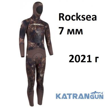 Гідрокостюм мисливський Beuchat Rocksea 7 мм; 2021