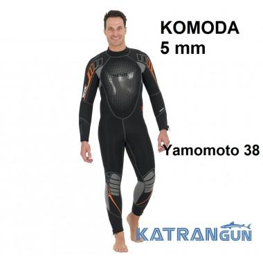 Дайвінговий гідрокостюм чоловічий Seac Sub Komoda 5 мм