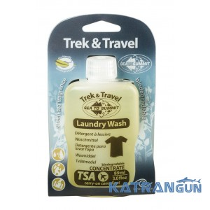 Рідке мило для прання Sea To Summit Trek and Travel Laundry Wash