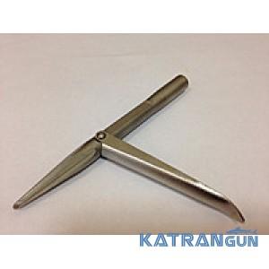 Наконечник для подводной охоты Katrangun, 1 флажок, четырёхгранный