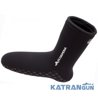 Носки для подводного плавания Scorpena A 6 мм