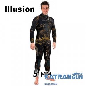 Гидрокостюм для подводной охоты 5 мм Mares Squadra Illusion