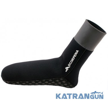 Шкарпетки для підводного полювання Scorpena B 6 мм