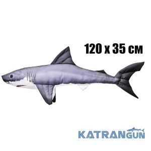 Подушка-игрушка Акула (120х35 см)