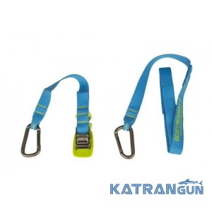 Стяжка с карабином Sea To Summit Carabiner Tie Down 2 Pack 2m