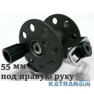 Котушки для підводних рушниць Pelengas 55 мм; металеві; універсальні; під праву руку