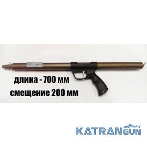 Ружьё для подводной охоты зелинка Zelinka Techno 700 мм; со смещением 200 мм; без регулятора