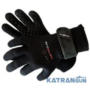 Неопреновые перчатки для подводной охоты AquaLung Thermocline, 5 мм