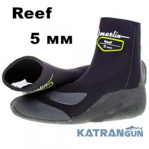 Боты для подводной охоты Marlin Reef 5 мм