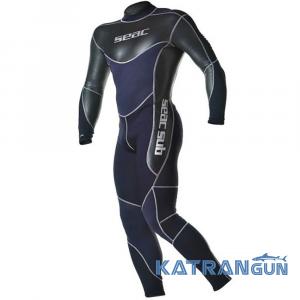 Мужской гидрокостюм для водных видов спорта Seac Sub Body Fit 1,5 мм