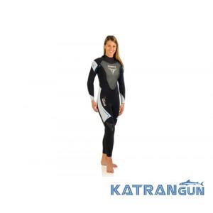 Жіночий гідрокостюм для плавання Mares Trilastic DLX 5-4-3 mm