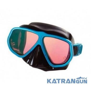 Подводная маска c диоптриями IST M-100 Panorama