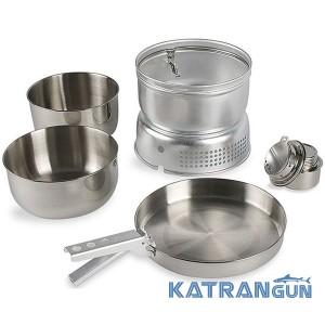 Набір посуду + пальник Tatonka Multi Set with A.Burner