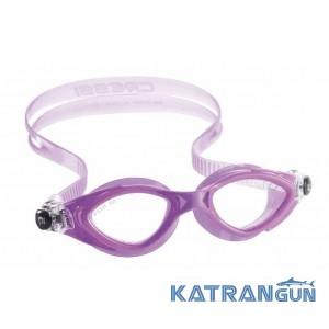 Детские очки для плавания Cressi Sub King Crab; сиреневые