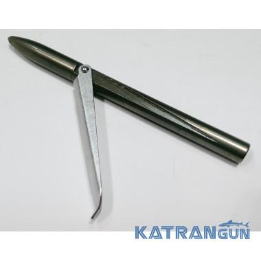Наконечник для підводної рушниці KatranGun, цілісний, куля, 1 прапорець