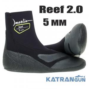 Носки для подводной охоты Marlin Reef 2.0; 5 мм