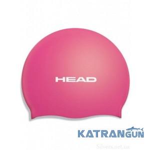Удобная шапочка для плавания Head Silicone Flat single color pearl