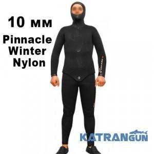 Гидрокостюм для зимней подводной охоты Pinnacle Winter Nylon 10 мм