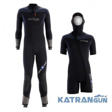 Чоловічий гідрокостюм для дайвінгу Aqua Lung Balance Comfort 7 mm