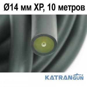 Тяги арбалетів в бухтах Pathos Latex Anaconda Ø14 мм XP, чорна, 10 метрів