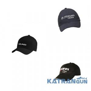 Фирменные кепки для подводных охотников