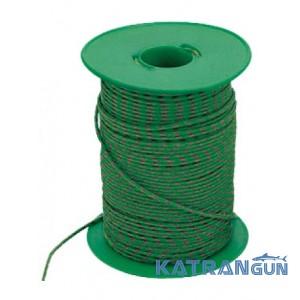 Нейлоновий зелено-черный линь Mares 2мм 100м