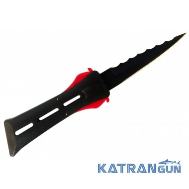 Нож для подводной охоты нержавеющий Scorpena A 2+