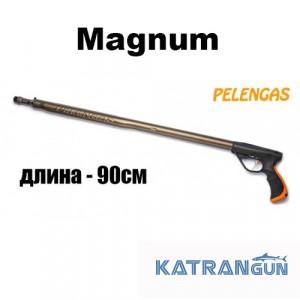 Ружье для подводной охоты Pelengas 90 Magnum, торцевая рукоять