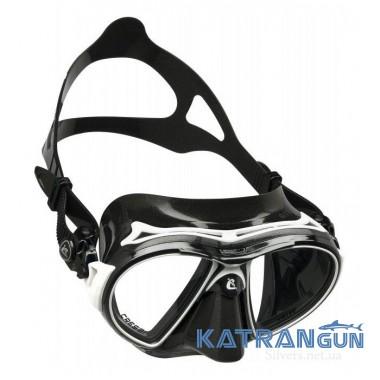 Двоскляна маска для дайвінгу Cressi-sub Air Dark
