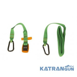 Стяжки Sea To Summit Carabiner Tie Down 2 Pack 3m