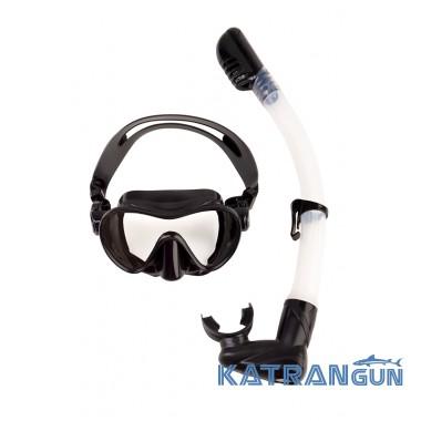 Набор маска + трубка для снорклинга Scorpena