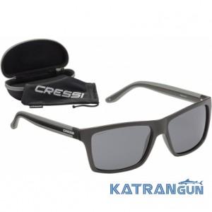 Солнцезащитные очки Cressi Sub Rio Black/Dark Grey Lens