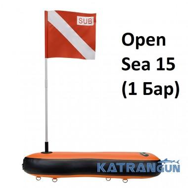 Буй для дайвінгу С4 Open Sea 15 (1 Бар)
