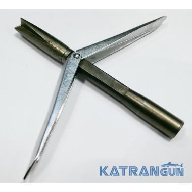 Наконечники для гарпунов со сменной головой KatranGun, корона, 2 флажка