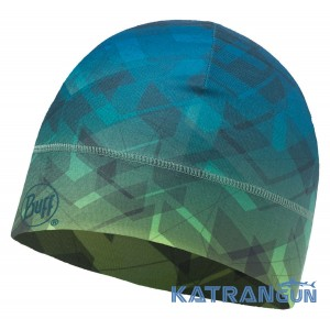 Легкая спортивная шапка Buff Thermonet Hat arrowhead multi